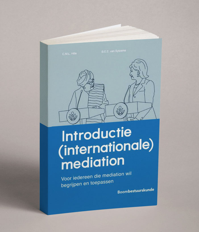 Onderhandelen internationale mediation - Elodie van Sytzama boek